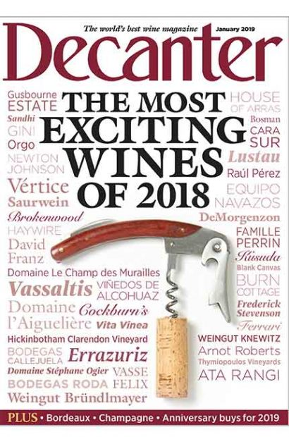 Decanter January 2019
