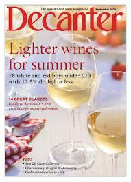 Decanter Sept. 2020 A