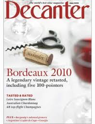 Decanter cover June 2020
